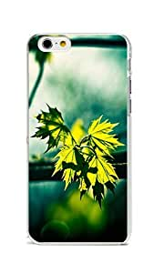 iPhone 6 Case Cover, Colorful Printed Green Eye Verdant Maple Slim Grip Hard Plastic Back Case for iPhone 6 4.7inch