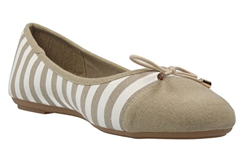 Footwear pour Taupe femme Ballerines Wei Fitters Aq18PTwxP