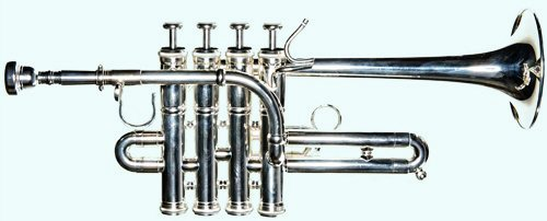 Global Art World Piccolo Trumpet Beautifully Crafted Stylish Open Box Special Piccolo Trumpet MI 032