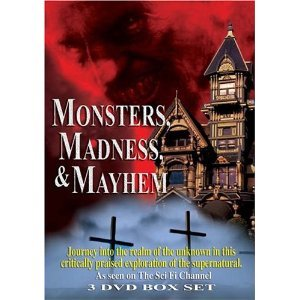 Monsters, Madness & Mayhem : The Sci-Fi Channel 3 Disc Box Set : The Devil , Witches , Creatures , Superstitions , The History Of Halloween -