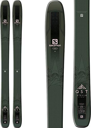Salomon QST Stella 106 Ski - Women's Black/Light Pink, 174cm