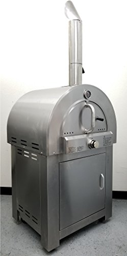 MCP Wood Ovens 30.5'' LPG Propane Gas Stainless Steel Artisan Pizza Oven or Grill, Outdoor or Indoor by MCP Wood Ovens