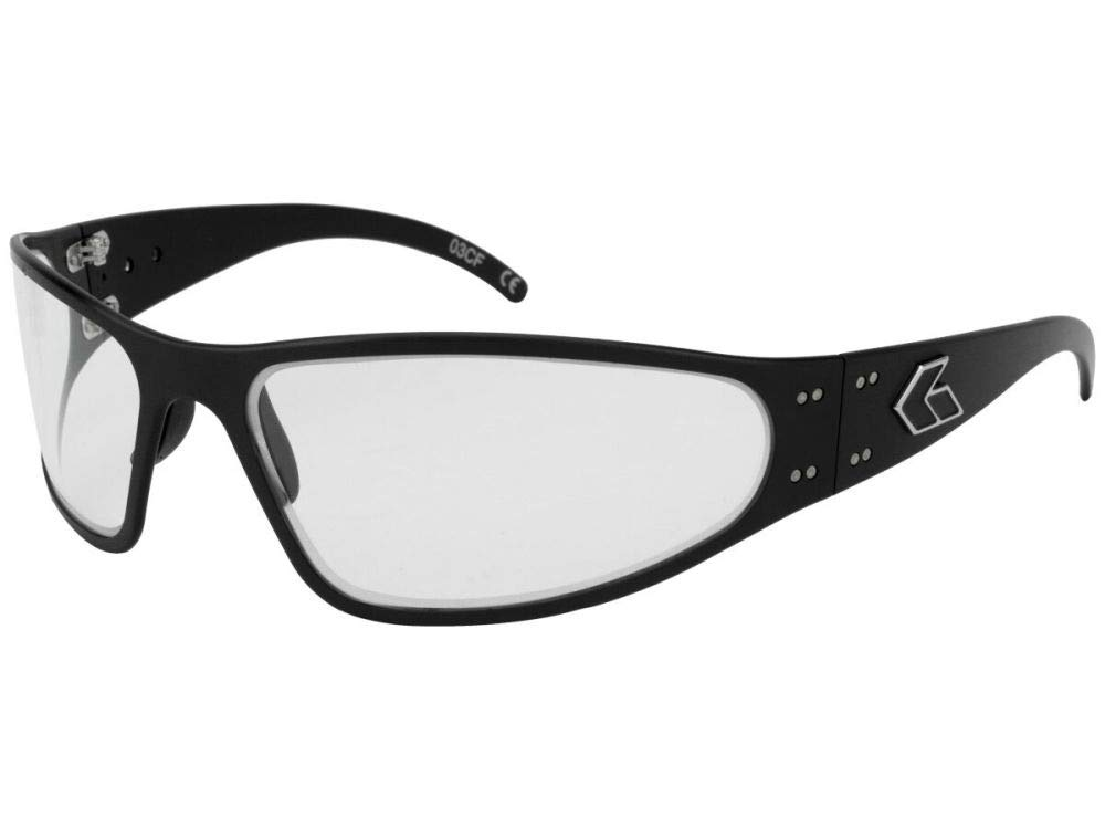 88d1af22d9 Amazon.com   Gatorz Wraptor Aluminum Frame Sunglasses-Blackout Tactical  Smoked Polarized Lens   Sports   Outdoors