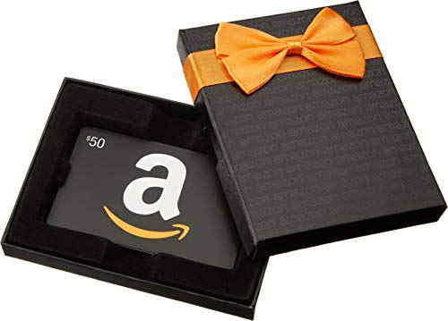 Amazon.com $2000 Gift Card in a Black Gift Box