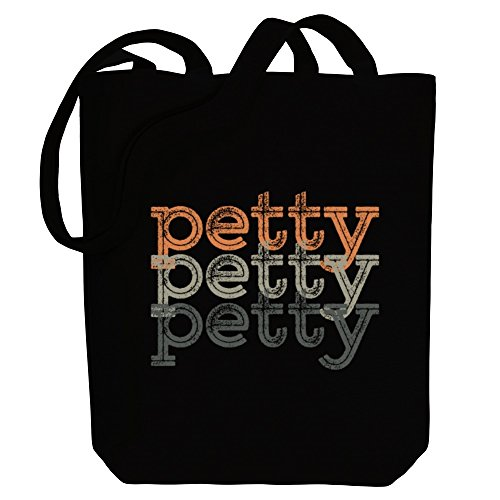 Idakoos Tote Petty Idakoos Bag Last Names retro Petty repeat Canvas Names Canvas retro Last Tote Bag repeat xZqpw08Ix