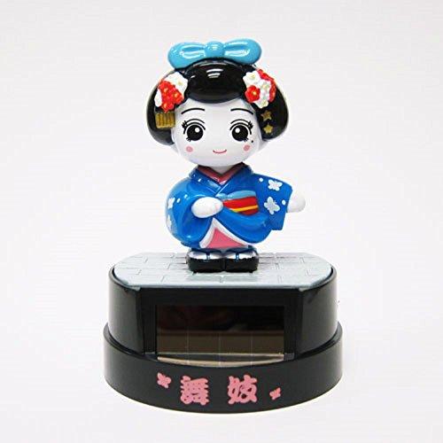 Maiko Girl - Solar Toys Mini figures Solar Kimono Girl Maiko Blue Figurine Toy