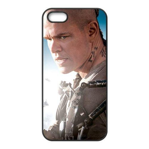 Elysium 2 coque iPhone 5 5S cellulaire cas coque de téléphone cas téléphone cellulaire noir couvercle EOKXLLNCD23487