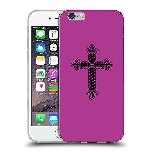 "GoGoMobile Coque de Protection TPU Silicone Case pour // Q07960621 Christian Cross 21 byzantin // Apple iPhone 6 4.7"""