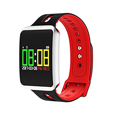Multi-function Fitness Tracker Smart Watch,PrettyW Activity Tracker Bluetooth Wireless Blood Pressure Heart Rate Monitor Waterproof Smart Watch,For Fashion,Sports, Business & Fitness.
