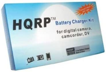 HQRP Battery and Charger Compatible with Fuji FujiFilm FinePix JX710 JX580 JX590 JX550 JX520 JX500 JX420 JX370 JX375 JZ250 JZ260 JZ100 JZ110 T200 T205 T300 T305 XP10 XP11 XP20 Digital Camera