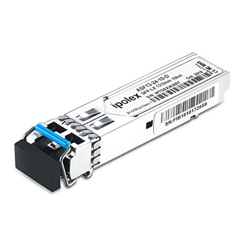 - Gigabit SFP 1000Base-LX Single-Mode Transceiver Module Compatible Supermicro, Mikrotik (SMF, 1310nm, 10km, LC, DDM)