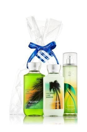 Bath & Body Works Coconut Lime Breeze Gift Set - All New Daily Trio ()