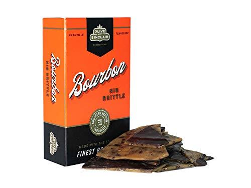 Olive & Sinclair Bourbon Nib Brittle - 2-pack