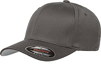 "Flexfit Men's Athletic Baseball Fitted Cap (Adult S/M (6 3/4"" - 7 1/4""), Dark Gray)"