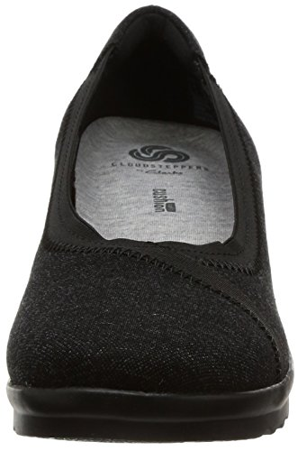 Clarks Caddell Dash Womens Shoes 5 D Black