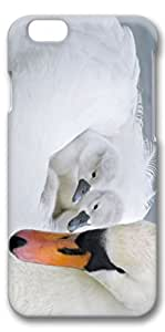 iPhone 6 Case, Custom Design Covers for iPhone 6 3D PC Case - Baby Swans by lolosakes