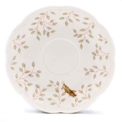Lenox Butterfly Meadow Saucer Set of 4 ()