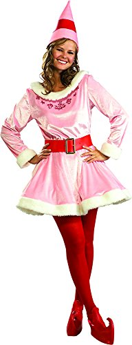 Elf Costumes Buddy (Rubie's Costume Deluxe Jovi The Elf Costume, Pink, One Size)