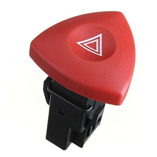 funnytoday365-hazard-warning-light-switch-dash-red-button-for-renault-espace-laguna-vauxhall-clio-ii