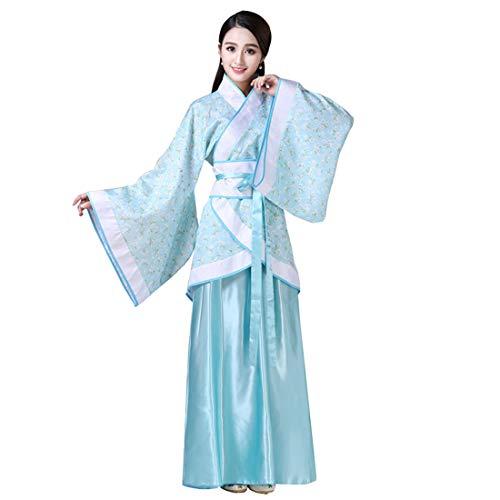9e30b54bb Ez-sofei Women's Ancient Chinese Han Dynasty Traditional Costume Set Hanfu  Dresses (S,