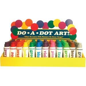 Do-A-Dot Paint Markers (Pack of 72) by Do-A-Dot