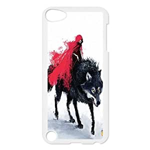 UNI-BEE PHONE CASE FOR Ipod Touch 5 -Wolf Art Pattern-CASE-STYLE 12