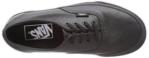 Black Adulte Mixte Decon Vans Leather Basses Baskets Premium Black Black Noir Authentic w4xqwCXT0