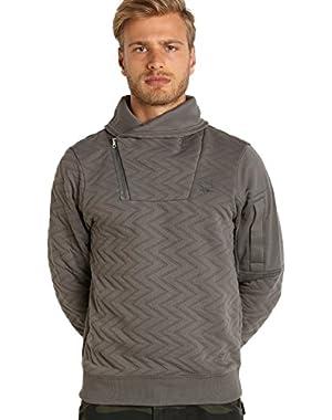 G-Star Batt Aero Utah Jacquard Sweater Grey