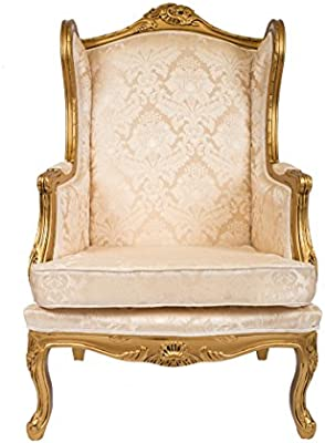 Derrys Queen ANN WINGBACK sillón Estilo Antiguo Shabby Chic ...