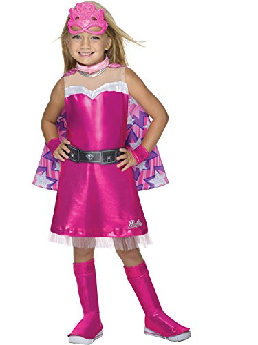 Rubie's Barbie Princess Power Super Sparkle Deluxe Costume, Child's Medium ()