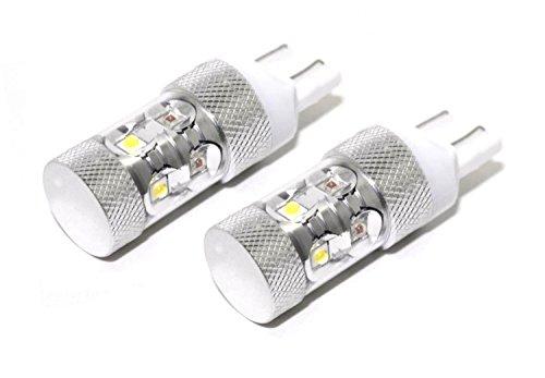 Putco 247443S-360 White/Amber 7443 Plasma Switchback LED Bulb