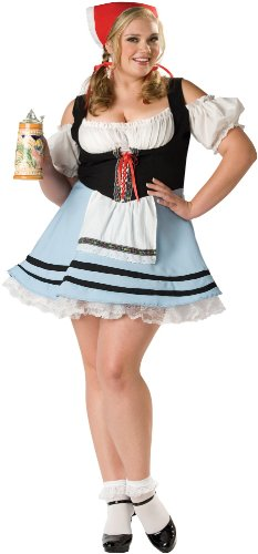 [Oktoberfest Girl Costume - Plus Size 2X - Dress Size 20-22] (Oktoberfest Costumes Party City)