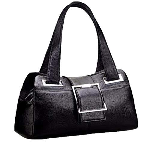 Shopping Donna Pelle A Di Stoccaggio Bella Tracolla Bovina Versa Da Moda Black Borsa Borse SBwAI
