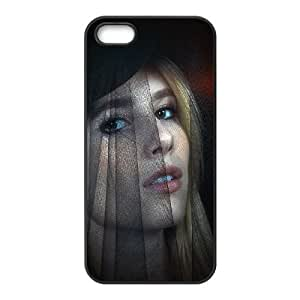 iPhone 4 4s Cell Phone Case Black he50 emma roberts american horror story dark SUX_865216