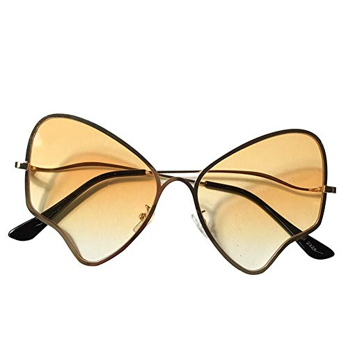 lunettes slim lunettes de mode papillon lunettes NIFG soleil rétro les de soleil Europe États personnalité sauvages Unis 6CCBwpq