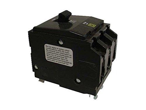 SCHNEIDER ELECTRIC Miniature Circuit Breaker 240-Volt 90-Amp QO390 Molded Case 600V 250A