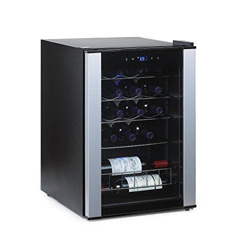 Wine Enthusiast 268 68 20 01 20-Bottle Evolution Series Wine Cooler, Stainless Trim