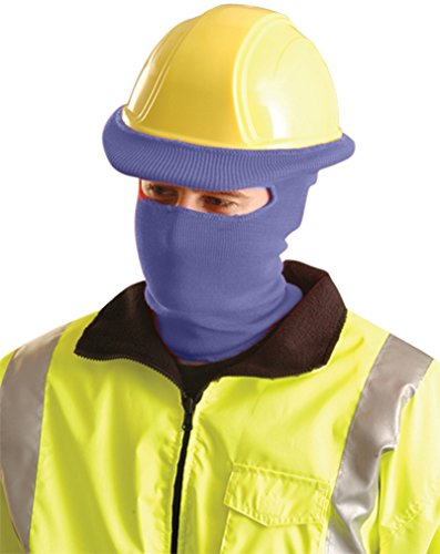 Stay Warm - Classic FULL FACE Hard Hat Tube Liner - NAVY BLUE-EACH