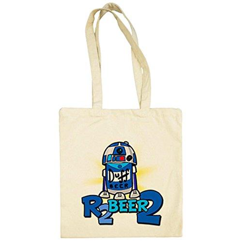 Diver R2 Beige R2D2 Star Beer Camisetas de tela Wars Bolsa 2 7RP4qr7f