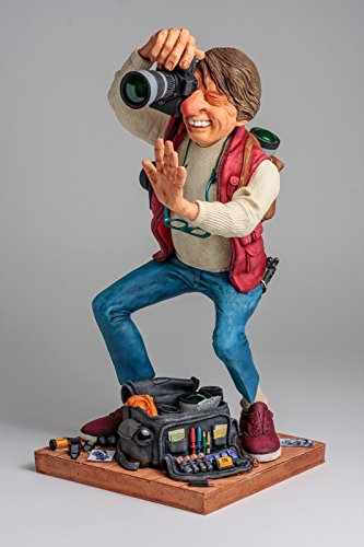 The Photographer Figurine Comic Art Of Guillermo Forchino 15.5 Inch Tall (Photographer Statue)