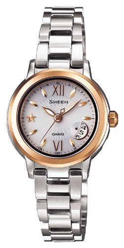 Casio Sheen Tough Solar Radio Clock SHW-1500GD-7AJF Women's Watch Japan import