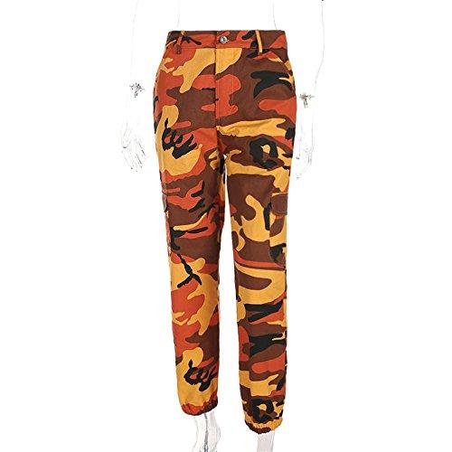 Orange Camo Pants - 7