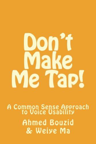 Don't Make Me Tap! - Dont The E Tap