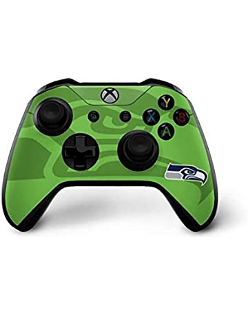Skinit Seattle Seahawks Double Vision Xbox One X Controller Skin -  Officially Licensed NFL Gaming Decal b07c779ef