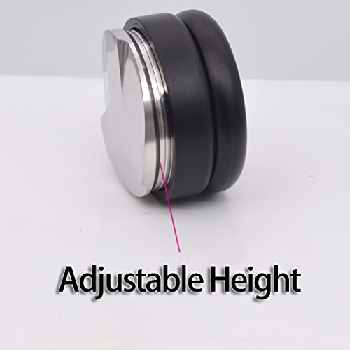 Adjustable Distribution Tool - for 58mm espresso portafilters - 58mm Base With Three Angled Slopes