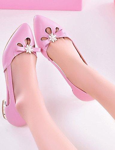hombre libre zapatos Flats de cn39 Punta piel eu39 plano Toe cerrado PDX mujer talón Bailarina aire Toe sintética beige gladiador de uk6 comodidad us8 al aHFwqx5
