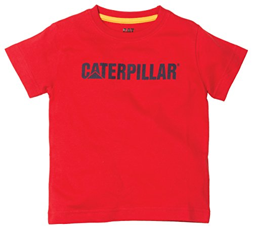 Cat Little Boys' Toddlers Trademark Tee, Tomato, (Caterpillar Toddler Shirt)