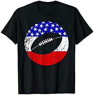 Best Gift American Flag Football Vintage Retro Football  Need Funny TShirt / S - 5Xl