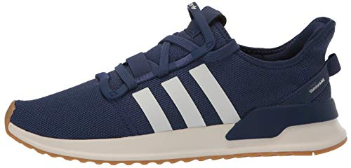 adidas Originals Men's U_Path Run Sneaker, Tech Indigo/Off White/Gum, 4