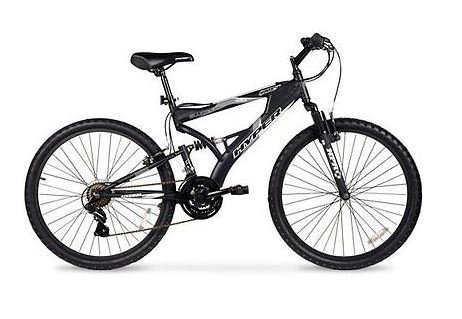 26″ Men's Mountain Bike, Black For Sale
